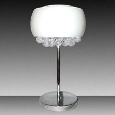NEW Crystal Chandelier White Glass Shade [RM-IT213A]