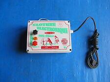 Boitier de contrôle de clôture électrique Type Chevaux Tensions: 230V 50 Hertz