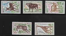 Mali Scott #67-71, Singles 1965 Complete Set FVF MH
