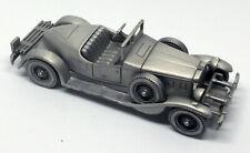 DANBURY MINT 1931 Stutz Bearcat Pewter Model CLASSIC CARS OF THE WORLD