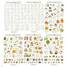 Molang Sticker Set Ver.1 Diary Planner Book Scrapbook Cute Rabbit Anime Decor
