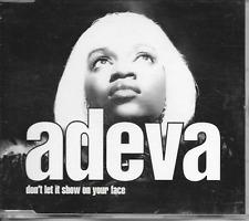 ADEVA - Don't let it show on your face CDM 3TR RnB Swing Hip Hop 1992 Europe