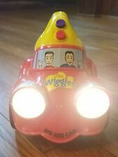 The Wiggles Big Red Car Flash Lights Toot Singing Musical Toy Spin Master 2004