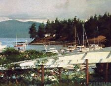 Port of Call - Christopher Blossom -Signed & Numbered Ltd Ed Print - NEW