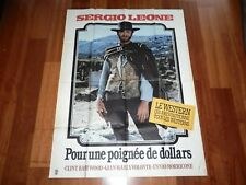 ORIGINAL MOVIE POSTER A FISTFUL OF DOLLARS 1964 FOLDED FRENCH 'PETITE' EASTWOOD