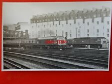 PHOTO  DIESEL LOCO NO D163 PASSES ROYAL OAK WITH A DISNEY SPECIAL 2/8/72