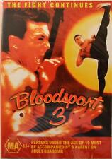 BLOODSPORT 3 THE FIGHT CONTINUES - MARTIAL ARTS KICKBOXING NEW DVD MOVIE SEALED
