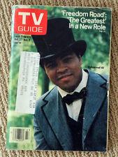 TV GUIDE 1979 Freedom Road MUHAMMAD ALI Ronald Hunter SUSAN ANTON