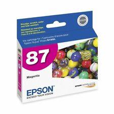 Genuine Epson 87 T0873 Magenta Ink Cartridge for Stylus Photo R1900