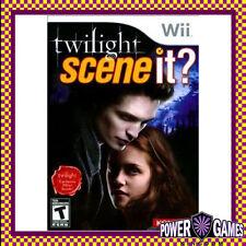 Scene It? Twilight (Nintendo Wii) Brand New
