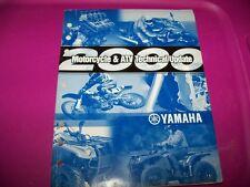 Genuine Yamaha Motorcycle & Atv Mechanical Update Manual