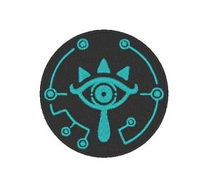 E0104  TV/MOVIE/GAME EMBROIDERED SHEIKA PATCH  -  ZELDA BREATH OF THE WILD