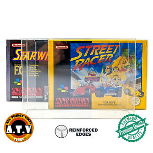 Game Box Protectors / Case / Display Box For SNES N64 Game Super Nintendo