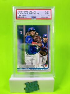 Vladimir Guerrero Rookie Card 🔥RC 2019 Topps Update PSA 9 Mint Ships Today Free