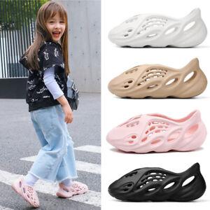 Men Women Kids Summer Beach Shoes Foam Runner Anti Slippery Sandals Casual Beige