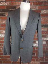 Giorgio Armani 38R Gray Wool 2B Mens Sport Coat Blazer Suit Jacket