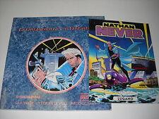 NATHAN NEVER catalogo BLEU GLAMOUR BOOK 1992 + Albo LUGANO Claudio Castellini