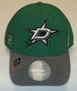 NHL Dallas Stars Flex Fit Hat By Reebok - Size S/M - New