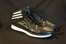 ADIDAS Black High-Top Men's Basketball Sneakers Shoes Size 13 Sprint Frame