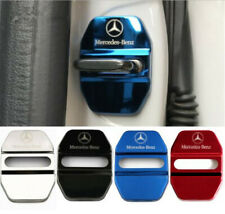 4PCS Stainless Steel Car Door Lock Latches Striker Cover Protector fit for Benz