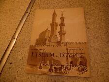 1931.L'islam en Egypte.Un des 200ex.sur vélin.Gautier.Louise Vitry