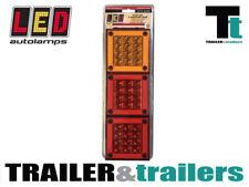 LARGE LED COMBINATION TAIL TRAILER LIGHT  - 12-24 VOLT LIGHT - LED AUTOLAMPS