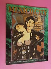 MEXICO CITY BY NIGHT - VAMPIRE THE MASQUERADE WHITE WOLF RPG WOD ROLEPLAYING VTM