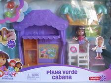 New Nickelodeon Dora and Friends Beach Cabana Playset Fisher Price