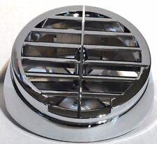 defroster vent round chrome plastic for 359 Peterbilt Kenworth A Model dash