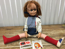 """Mattel Red Hair Charmin Chatty Cathy Doll +Records Not Working 1960's 25"""" Sailor"""