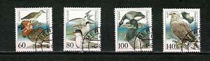 U0065 GERMANY 1991 Endangered seabirds  used