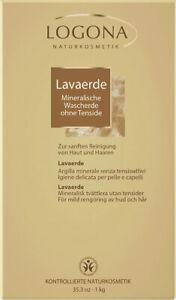 Logona Naturkosmetik - Lavaerde Pulver - 1kg ohne Tenside