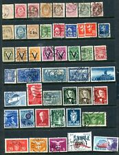 Lot of 700+ Used Stamps NORWAY - Estate Finds!