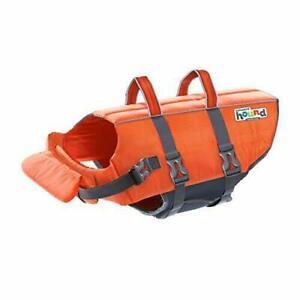 Outward Hound Dog Life Jacket Orange Medium 2520