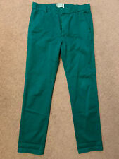 Band of Outsiders BOO Cotton Twill Slim Chino Pants in Green Men's 32