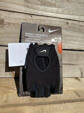 Nike Womens Fundamental Fitness Training gloves BRAND NEW. Black.