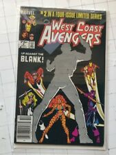 West Coast Avengers #2 marvel 1984 1st app of the Blank Graviton comic book rare