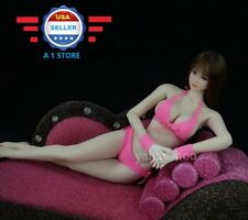 "1/6 scale Pink Bikini set for 12"" Female Figure Doll PHICEN JIAOUDOLL"