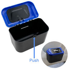 Durable Blue Car SUV Trash Can Bin Garbage Bag Rubbish Organizer Storage 1pc