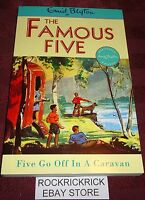 ENID BLYTON - THE FAMOUS FIVE - FIVE GO OFF IN A CARAVAN -2009- (216 PAGES)