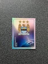 PANINI CHAMPIONS LEAGUE 2011/12 NR. 39 BADGE MANCHESTER CITY FC