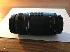 Canon ef 75-300mm f4-5.6 III/EOS Full Frame lente de zoom