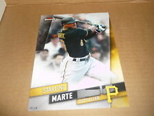 2019 Topps Finest EXTENDED SET 5 X 7 JUMBO 04/49 STARLING MARTE PIRATES