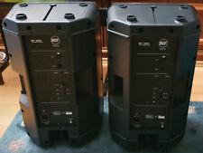 PA Anlage komplett: 2 Aktivboxen RCF ART 200A, Behringer Eurorack MX 80