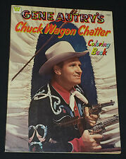 1975 - GENE AUTRY'S CHUCK WAGON CHATTER - COWBOY /WESTERN /MOVIE - COLORING BOOK