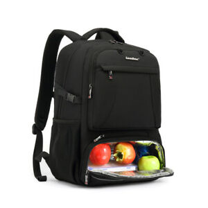 Lunch Backpack, Insulated Cooler Backpack Lunch Box Laptop Backpack for School