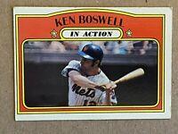 Topps 1972 #306 Ken Boswell - New York Mets  In Action