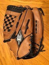 "Easton Glove Authentic Professional Steerhide Rare 13"" NLS1300 RHT Brown/Black"