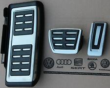 VW Touran Type 5 R LINE pedalset pedals pedal cover caps kit footrest auto cars