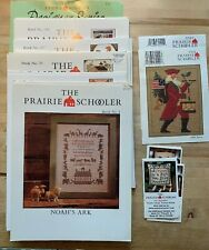 X Stitch Pattern Booklets+ Cards from THE PRAIRIE SCHOOLER Your Choice of Many